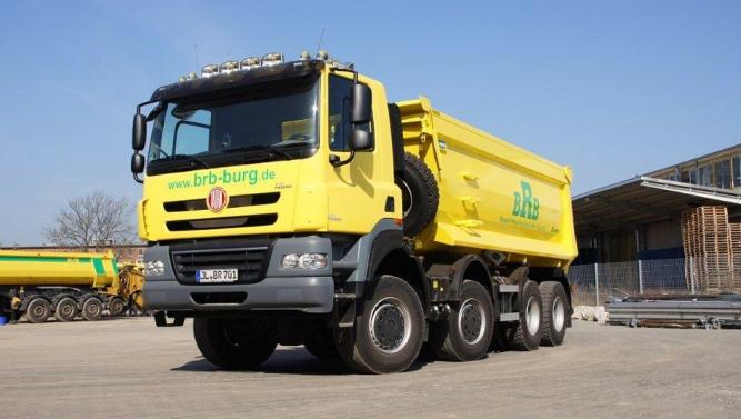 Первый грузовик TATRA PHOENIX проданный в Германии