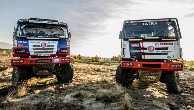 TATRA BUGGYRA RACING вместе с автомобилями TATRA PHOENIX и TATRA 815 Buggyra отправляется на Ралли ДАКАР 2016