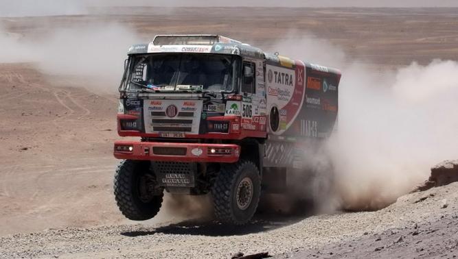 TATRA BUGGYRA Racing в Ралли Дакар заняла седьмое место