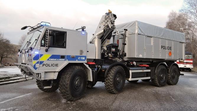 Новый автомобиль TATRA FORCE для Пиротехнической службы Полиции ЧР