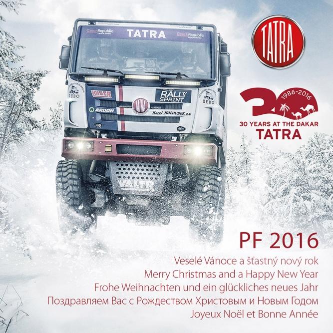 TATRA TRUCKS - PF 2016