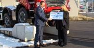 Министр Досталова передала копршивницкой Татре чек на реконструкцию исторического униката