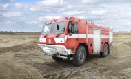 Новый автомобиль TATRA 4х4 для пожарных Хренско