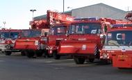 Встречи пожарных автомобилей в городе Збирог