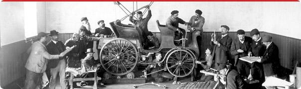 Historie výroby vozů TATRA